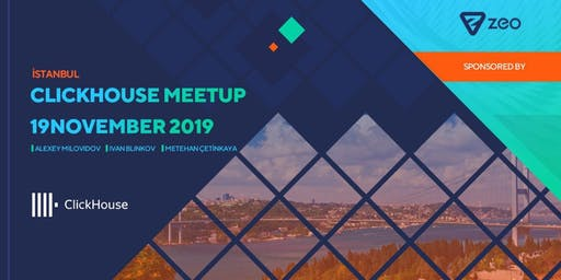Clickhouse Meetup Istanbul: Create Blazing Fast Experiences w/ Clickhouse