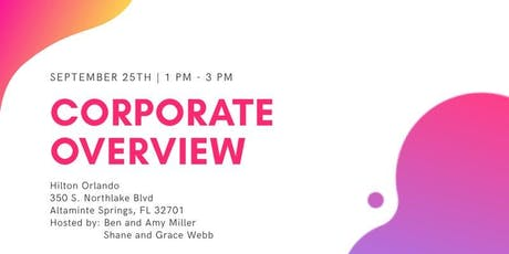 Corporate Overview | Hiring Event tickets