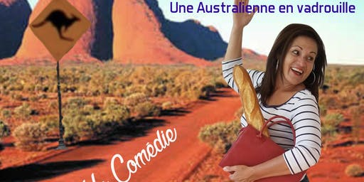 Sydney Londres Paris Darling.  Stand-up par une australienne.