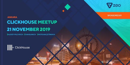 Clickhouse Meetup Ankara: Create Blazing Fast Experiences w/ Clickhouse