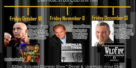 Russo on the Road Comedy/ Live Band Night October 18 tickets