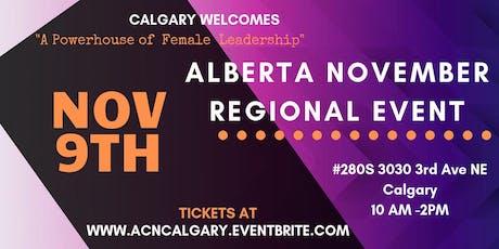 Calgary Regional November 2019 tickets
