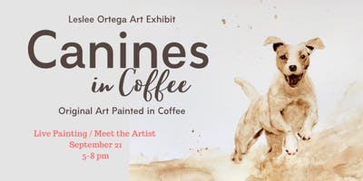 Pop Up - Live Painting in Coffee