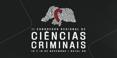 II Congresso Regional de Ciências Criminais