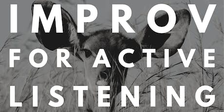 Improv for Active Listening tickets