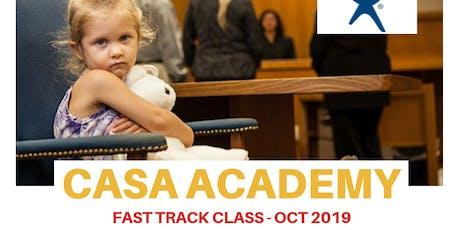 CASA Academy - Fast Track tickets