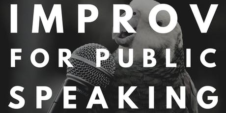 Improv for Public Speaking tickets