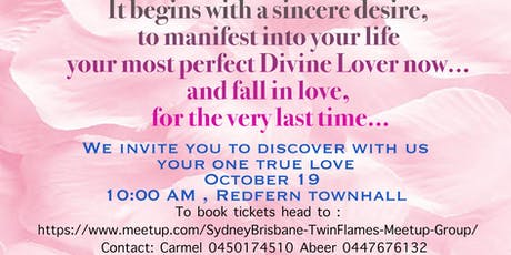 Discover your one true love - Twin flames Australian Union tickets