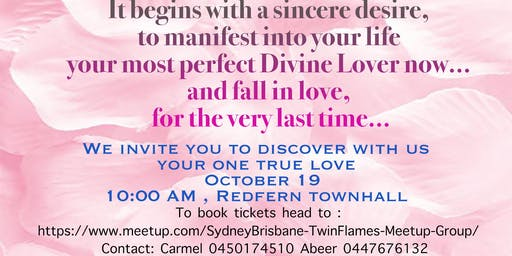 Discover your one true love - Twin flames Australian Union