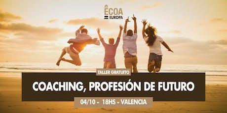 Taller gratuito: Coaching, profesión de futuro entradas