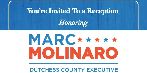 A Reception Honoring County Executive Marc Molinaro