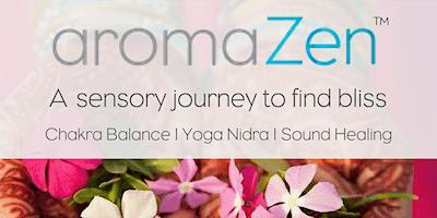 aromaZen Full Moon Chakra Balance Meditation & Sound Healing