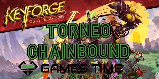 Torneo KEYFORGE ChainBound Sealed