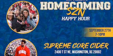 HOMECOMING SZN HAPPY HOUR tickets