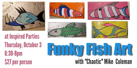 FUNky Fish Painting Class tickets