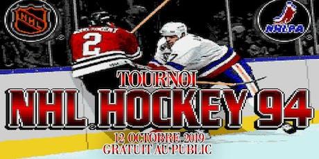 Tournoi NHL 94 sur  SNES tickets