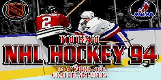 Tournoi NHL 94 sur  SNES