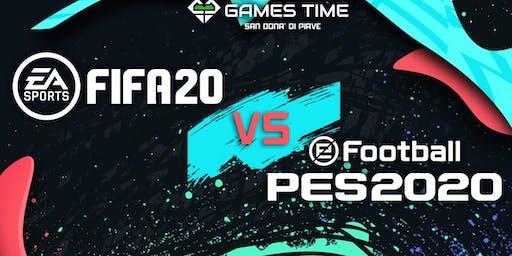 FIFA 20 VS PES 2020: il torneo