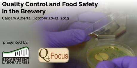 Quality Control and Food Safety in the Brewery - CALGARY Course tickets
