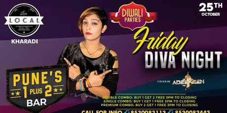 Friday Diva Night - Dj Adeekeen tickets