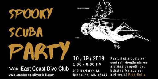 ECDC Spooky Scuba Party