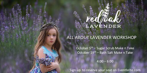 All About Lavender - Sugar Scrub Make n Take
