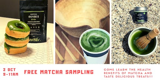 Learn the Health Benefits of Matcha & Taste Delicious Treats