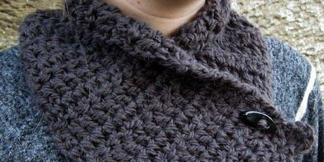 Beginners Crochet   Winter Wrap tickets