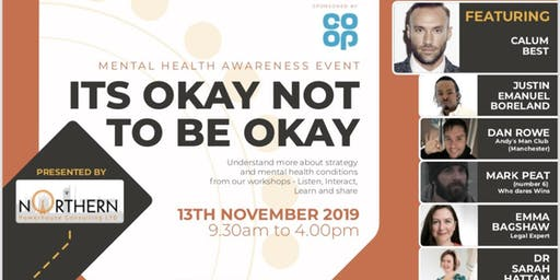 """""""It's ok, not to be ok"""" - Mental Health Event"""