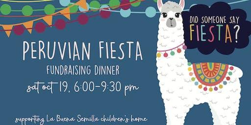 Peruvian Fiesta - Fundraising Dinner