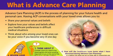 MacPherson: Advance Care Plan Preparation (Individual) - Oct 17 (Thu)  tickets