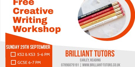 Free Creative Writing Workshop tickets