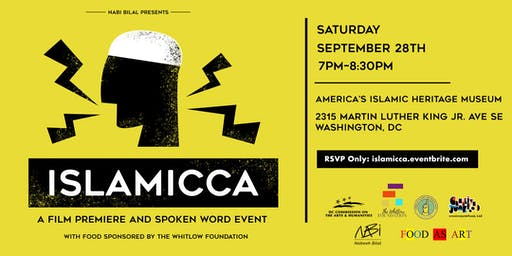 Islamicca: A Film Premiere and Spoken Word Event