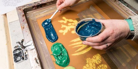 Paper Screen Printing - 5 Week Course tickets