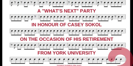 "A ""What's Next"" Party In Honour of Casey Sokol tickets"