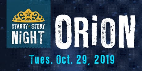 Starry Story Night:  ORiON tickets