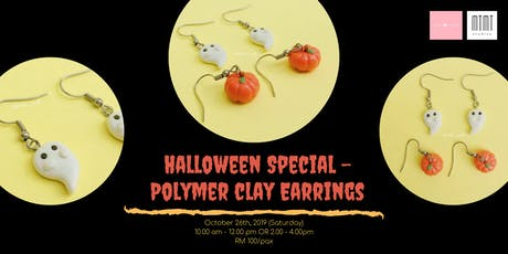 Halloween Special - Polymer Clay Earring Workshop tickets