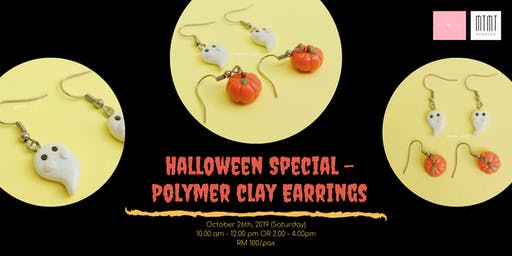 Halloween Special - Polymer Clay Earring Workshop