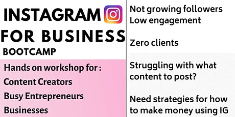 Instagram Marketing Bootcamp Workshop + Brunch tickets