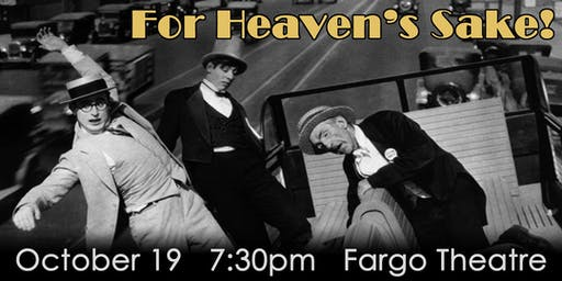 "Silent Movie Night 2019: ""For Heaven's Sake!"""