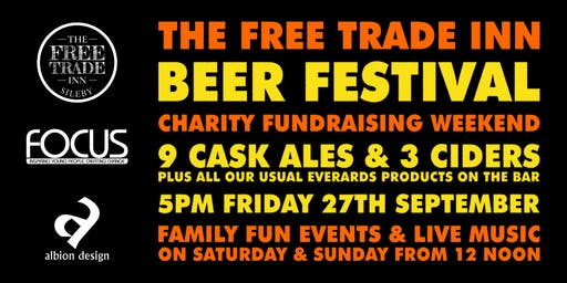 The Free Trade Inn Beer Festival & Charity Fundraising Weekend