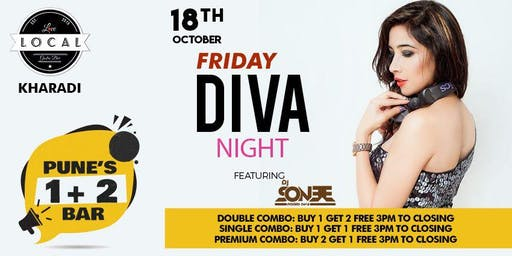 Friday Diva Night - Dj Sonee