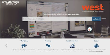 Save Money. Save Time.  Sell Homes tickets