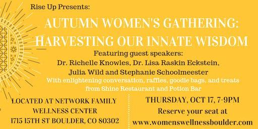 Autumn Women's Gathering: Harvesting Our Innate Wisdom