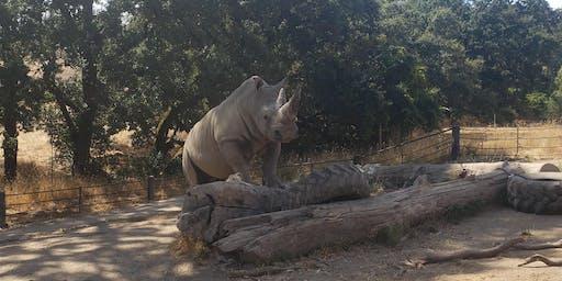 Safari West AAZK Bowling For Rhinos