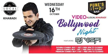 Wednesday Bollywood Night - Dj Vispi tickets