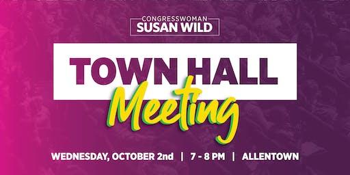 Town Hall Meeting with Congresswoman Susan Wild
