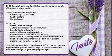 Pisa - Corso gratuito sugli oli essenziali CPTG biglietti