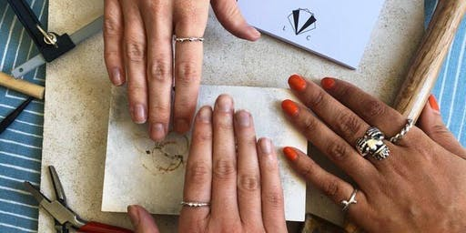 RING MAKING WITH LUCY CHARLOTTE JEWELLERY AT OBJECT STYLE