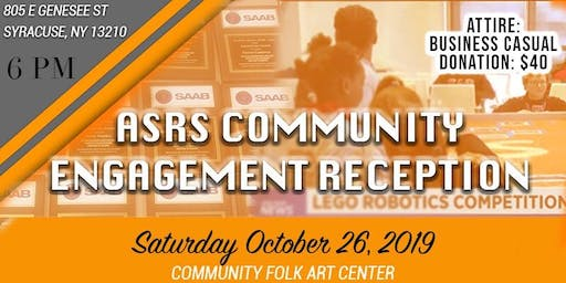 ASRS Community Engagement Reception